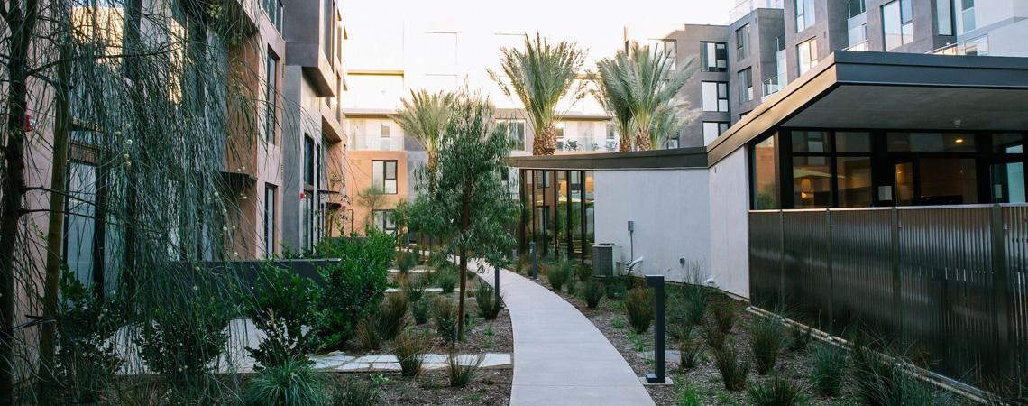 Block C Courtyard
